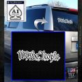 We The People Decal Sticker White Emblem 120x120
