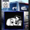 101 Dalmations Pup Decal Sticker White Emblem 120x120