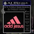 Adidas Add Jesus Decal Sticker Pink Emblem 120x120