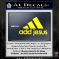 Adidas Add Jesus Decal Sticker Yellow Laptop 120x120
