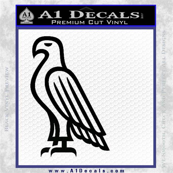 American Bald Eagle DG Decal Sticker Black Logo Emblem
