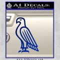 American Bald Eagle DG Decal Sticker Blue Vinyl 120x120