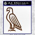 American Bald Eagle DG Decal Sticker Brown Vinyl 120x120