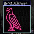 American Bald Eagle DG Decal Sticker Hot Pink Vinyl 120x120