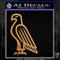 American Bald Eagle DG Decal Sticker Metallic Gold Vinyl 120x120