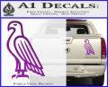 American Bald Eagle DG Decal Sticker Purple Vinyl 120x97