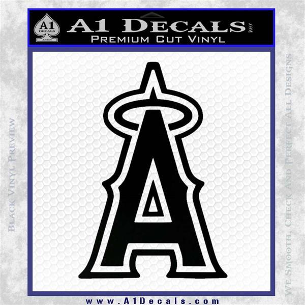 Anaheim Angels Decal Sticker L1 187 A1 Decals