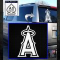 Anaheim Angels Decal Sticker L1 White Emblem 120x120