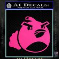 Angry Birds Bomb Decal Sticker Pink Hot Vinyl 120x120