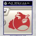 Angry Birds Bomb Decal Sticker Red 120x120