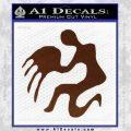 Aquarius Zodiac Decal Sticker D1 BROWN Vinyl 120x120