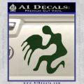 Aquarius Zodiac Decal Sticker D1 Dark Green Vinyl 120x120