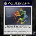Aquarius Zodiac Decal Sticker D1 Glitter Sparkle 120x120