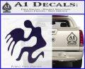 Aquarius Zodiac Decal Sticker D1 PurpleEmblem Logo 120x97