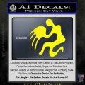 Aquarius Zodiac Decal Sticker D1 Yellow Laptop 120x120