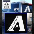 Arizona Diamondbacks MLB Logo Decal Sticker White Emblem 120x120