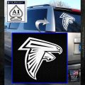 Atlanta Falcons Decal Sticker DF White Emblem 120x120
