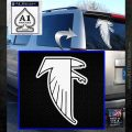 Atlanta Falcons NFL Football Decal Sticker White Emblem 120x120