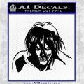 Attack on Titan Eren Yeager AST Decal Sticker Black Logo Emblem 120x120