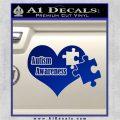 Autism Awareness Decal Sticker D9 Blue Vinyl 120x120