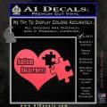 Autism Awareness Decal Sticker D9 Pink Vinyl Emblem 120x120