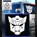 Autobots Dinobot Decal Sticker Transformers White Emblem 120x120