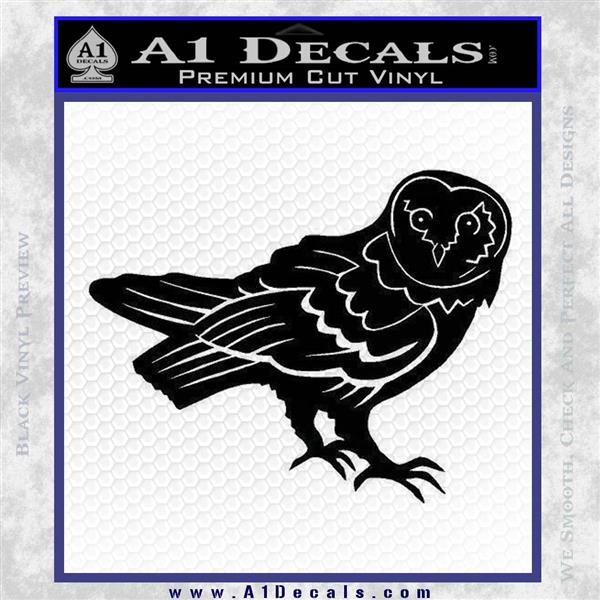 Barn Owl Window Decal Sticker » A1 Decals