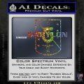 Babylon 5 Shield Title Logo Decal Siicker Sparkle Glitter Vinyl 120x120