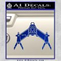 Babylon 5 Spaceship Omega Decal Siicker Blue Vinyl 120x120