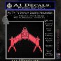 Babylon 5 Spaceship Omega Decal Siicker Pink Vinyl Emblem 120x120