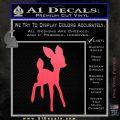 Bambi Decal Sticker D3 Pink Vinyl Emblem 120x120