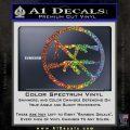 Ban Semi Auto Guns Decal Sticker Glitter Sparkle 120x120