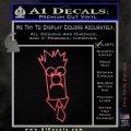 Beaker Decal Sticker Muppets Pink Vinyl Emblem 120x120