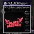 Black Sabbath Decal Sticker DA Pink Vinyl Emblem 120x120