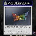 Black Sabbath Decal Sticker DA Sparkle Glitter Vinyl 120x120