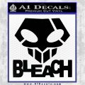 Bleach Anime T Decal Sticker Black Logo Emblem 120x120