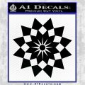 Bleach Gotei 13 Third Division Anime Decal Sticker Black Logo Emblem 120x120