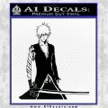 Bleach Ichigo Kurosaki Anime Decal Sticker Black Logo Emblem 120x120
