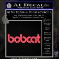 Bobcat Decal Sticker VZL Pink Vinyl Emblem 120x120