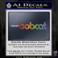 Bobcat Decal Sticker VZL Sparkle Glitter Vinyl 120x120