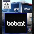 Bobcat Decal Sticker VZL White Emblem 120x120