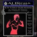 Bruce Lee Decal Sticker Fight Pink Vinyl Emblem 120x120