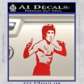 Bruce Lee Decal Sticker Fight Red Vinyl 120x120