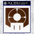 Call of Duty Deadshot Daiquiri Perk Decal Brown Vinyl 120x120