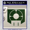 Call of Duty Deadshot Daiquiri Perk Decal Dark Green Vinyl 120x120