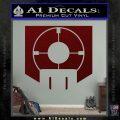 Call of Duty Deadshot Daiquiri Perk Decal Dark Red Vinyl 120x120