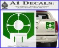 Call of Duty Deadshot Daiquiri Perk Decal Green Vinyl 120x97