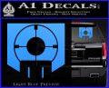 Call of Duty Deadshot Daiquiri Perk Decal Light Blue Vinyl 120x97