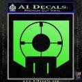 Call of Duty Deadshot Daiquiri Perk Decal Lime Green Vinyl 120x120