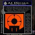 Call of Duty Deadshot Daiquiri Perk Decal Orange Vinyl Emblem 120x120